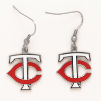 "Minnesota Twins ""TC"" Earrings"