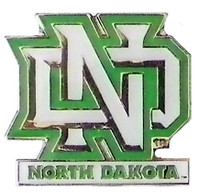 North Dakota Logo Pin