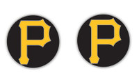 Pittsburgh Pirates Post Earrings