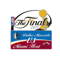2011 NBA Finals Heat vs Mavericks Head to Head Pin