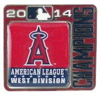 Los Angeles Angels 2014 Division Champs Pin