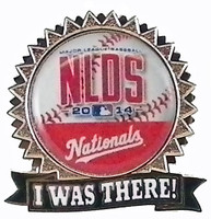 Washington Nationals 2014 NLDS Pin