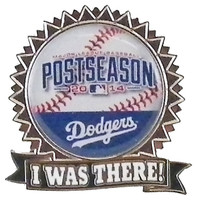 "Los Angeles Dodgers 2014 Post Season ""I Was There"" Pin"