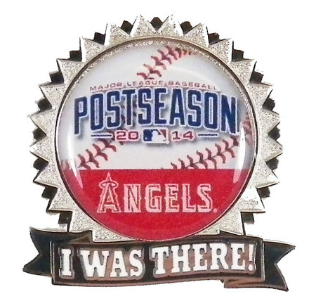 """Los Angeles Angels 2014 Post Season """"I Was There"""" Pin"""