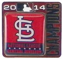 St. Louis Cardinals 2014 Division Champs Pin