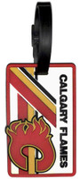 Calgary Flames Luggage Tag