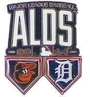 2014 ALDS Tigers vs Orioles Dueling Pin