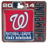 Washington Nationals 2014 Division Champions Pin