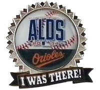 Baltimore Orioles 2014 ALDS Pin