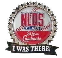 "St. Louis Cardinals 2014 NLDS ""I Was There"" Pin"