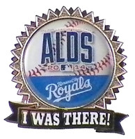 "Kansas City Royals 2014 NLDS ""I Was There"" Pin"