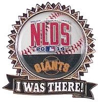 "San Francisco Giants 2014 NLDS ""I Was There"" Pin"