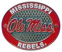 Mississippi Rebels Oval Pin