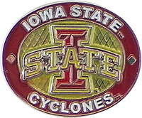 Iowa State Cyclones Oval Pin