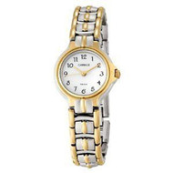 Carriage Womens Two Tone Bracelet Watch C3C353