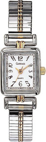 Carriage Womens Two Tone Expansion Band Watch C2A971