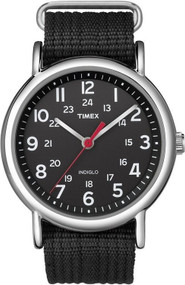 Timex Mens Black Weekender Casual Watch