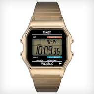 Timex Mens Classic Goldtone Digital Watch