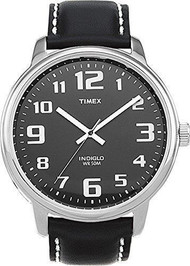Timex Mens Easy Read Silvertone Dress Watch