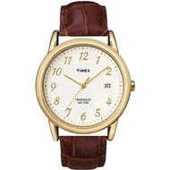 Timex Mens Easy Reader Goldtone Strap Watch T2M441