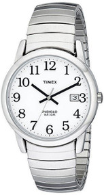 Timex Mens Easy Reader Silvertone Watch T2H451
