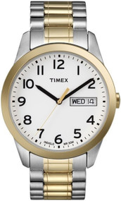 Timex Mens Goldtone Classic Dress Watch T2N065
