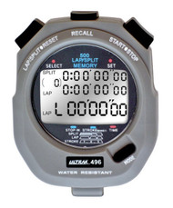 Ultrak 496 Stopwatch - 500 Lap Memory