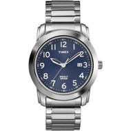 Timex Mens Silvertone Expansion Band Watch (T2P132)