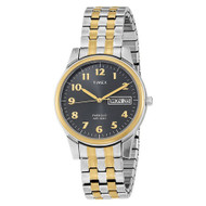 Timex Mens Two Tone Expansion Band Watch