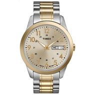 Timex Mens Two Tone Expansion Watch (T2M935)