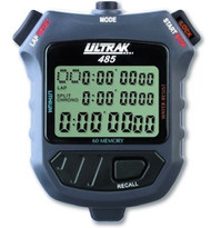 Ultrak 485 Stopwatch 3 Line Display / 60 Lap Memory
