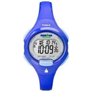 Timex Womens Ironman Blue 10 Lap Sport Watch (T5K784)