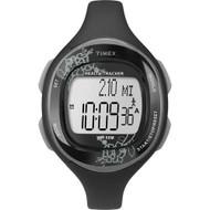 Timex Womens Silicone Health Tracker Midsize Sports Watch T5K486