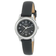 TImex Womens Silvertone Black Dial Watch T29291