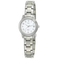 Timex Womens Silvertone Dress Bracelet Watch