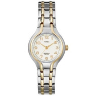 Timex Womens Two Tone Dress Bracelet Watch