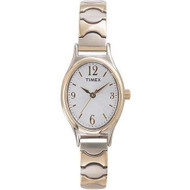 Timex Womens Two Tone Expansion Band Watch T26301
