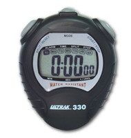 Ultrak 330 Stopwatch BLACK - IMPROVED!