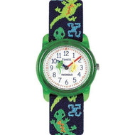 Timex Youth Kids Analog Lizard Print Watch (T72881)