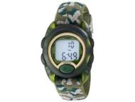 Timex Youth Kids Digital Green Camo Watch