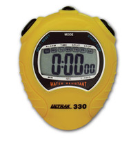 Ultrak 330 Stopwatch YELLOW - IMPROVED!