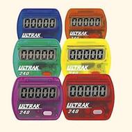 6 Pack ULTRAK 240 Pedometer