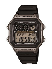 Casio Men's Illuminator Digital Sport Watch AE1300WH-8AVCF Gray