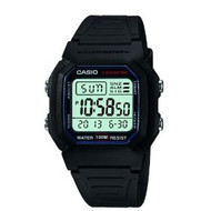 Casio Men's Classic Digital Sport Watch W800H-1AV Black