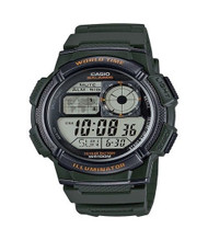 Casio Men's Digital Sport Watch AE1000W-3AVCF Green
