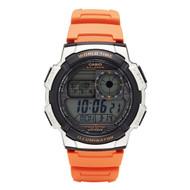 Casio Men's Digital Sport Watch AE1000W-4BVCF Orange