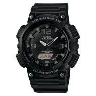 Casio Men's Solar Ana-Digi Sports Watch AQS810W-1A2VCF Black