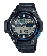 Casio Men's Twin Sensor Analog-Digital Black Watch 1