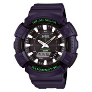 Casio Men's Solar Watch ADS800WH-2AV Black