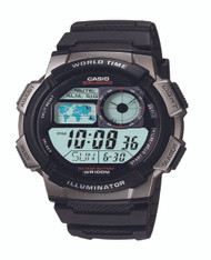 Casio Men's Digital Analog Watch AE1000W-1BVCF Black